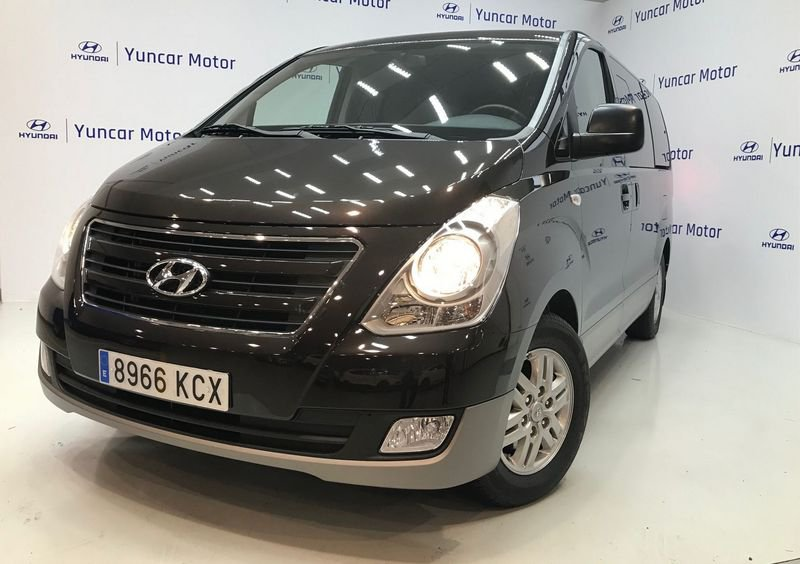 coche seminuevo madrid hyundai h-1 travel diésel 2.5 crdi 136 cv 14372